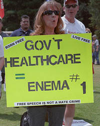 The end of freedom in America. Blame it on the tyranny of Obamacare