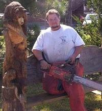 chain saw sculptor - thumbnail