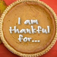 What I am thankful for at Thanksgiving (other than pie)