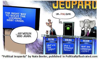 Watson vs. Palin in mock presidential debate – Who will win?