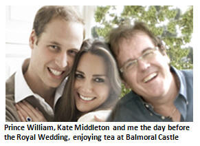 My fun weekend at the Royal Wedding with Willy and Kate