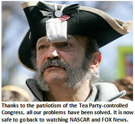 The Tea Party's bold plans to eliminate the debt completely by Dec. 17th – Conclusion