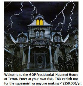 GOP Halloween Haunted House of Terror – ENTER IF YOU DARE!!!
