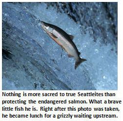 Seattle - salmon