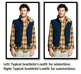 Seattle - summer clothing
