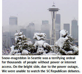 My close brush with death: Seattle's Snow-mageddon