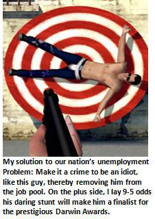 Launching America's next war: A War on Idiots