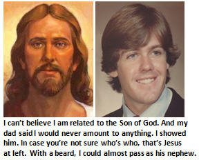 I just found out I'm related to Jesus – on my mother's side