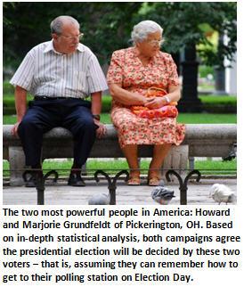 Meet Howard and Marjorie Grunfeldt of Pickerington, Ohio – America's last remaining undecided voters