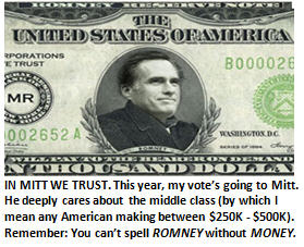 Why I'm switching my vote to Romney.  Reason #17: I just like his hair.