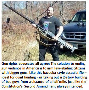 NRA solves gun violence problem: Bullet-proof vests for every American