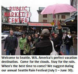 Welcome to Seattle – The Land the Sun Forgot