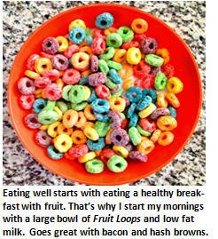 Fitness program - Fruit Loops