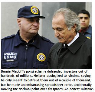 Apology - Bernie Madoff