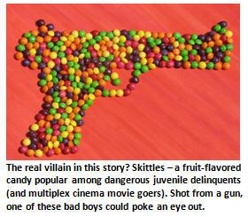 Zimmerman - Skittles gun
