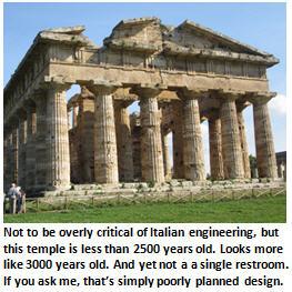 Italy vacation - Roman Temple