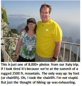 Italy vacation - Tim and Michele