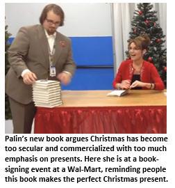 Sarah Palin book signing