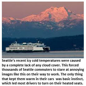 Seattle cold weather - Olympics
