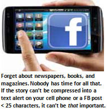 attention span - Facebook