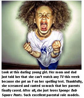 When it comes to our kids, winning isn't everything. Whining is…..