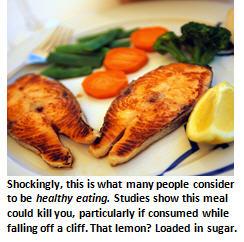 bad food - fish meal