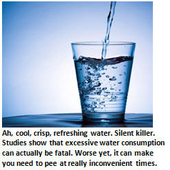 bad food - water