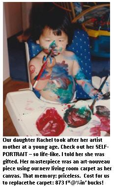 Lie to your kids - Rachel