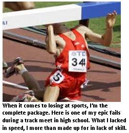 Sports loser - track