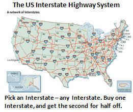 debt problem - interstate highways