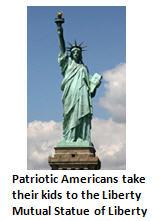 debt problem - statue of liberty