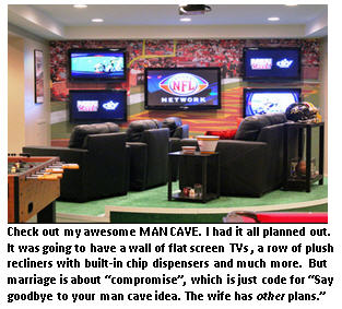Man Cave 2.0 – a wife-friendly version
