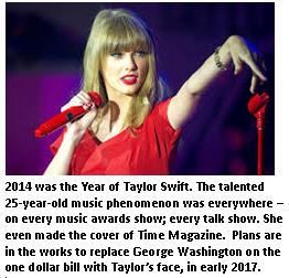 2014 year in review - Part 1 - Taylor Swift