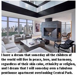 I have a dream too - Manhattan