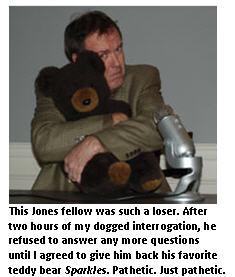 Interrogation - teddy bear