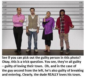 Become a criminal - lineup