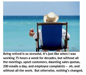 My Weekly Business Report – Retirement Edition
