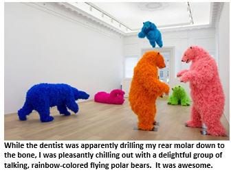 Dentist -polar bears