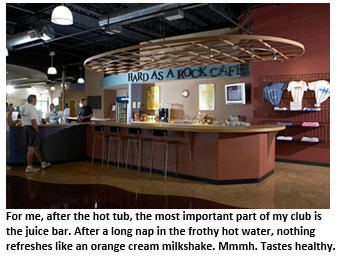 health club - juice bar