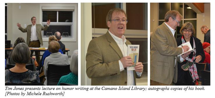 Camano Island Library presentation