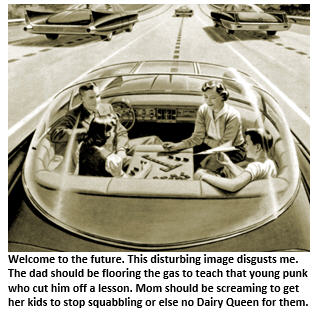 self-driving car - car of the future