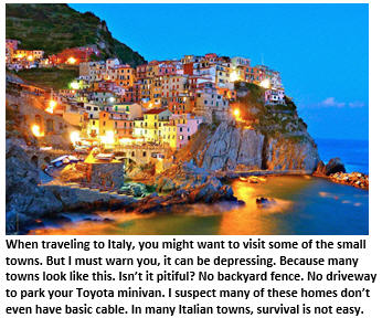 An American Tourist's Guide to Vacationing in Italy