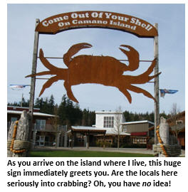 crabbing - crab sign