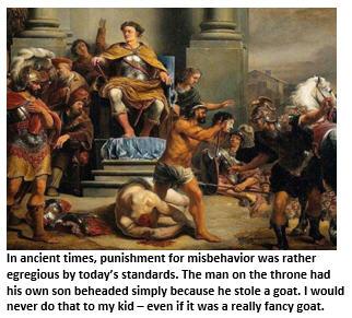 Discipline - beheading