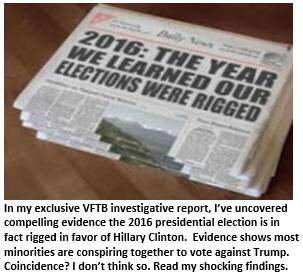 Trump is Right – Proof the Election is Rigged