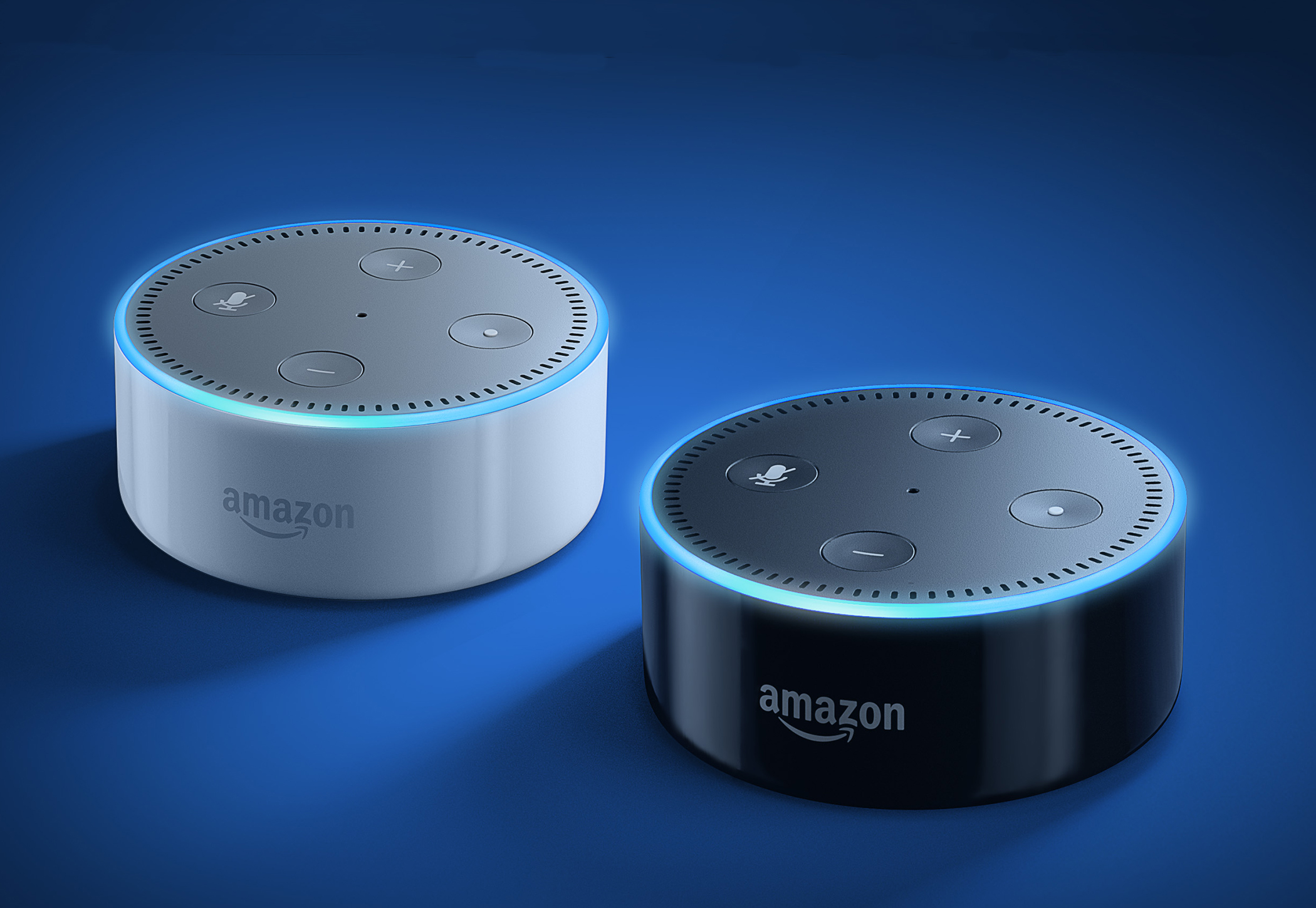 """This is the Amazon Echo Dot – about the size of a hockey puck. Just say a command, starting with """"Alexa,"""" and it will play music, tell you the news, or even turn on your alarm system. But there is one thing Alexa can't do. She can't drive your car – yet."""