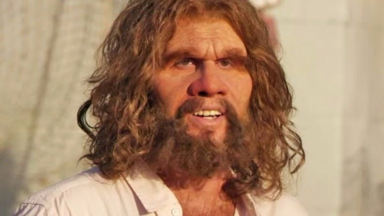 Scientists believe early man may have looked something like this. They also think he probably lied as a way to gain an advantage over his adversary. But there's one thing that this caveman would not lie about: You can save 15% on your car insurance with Geico.