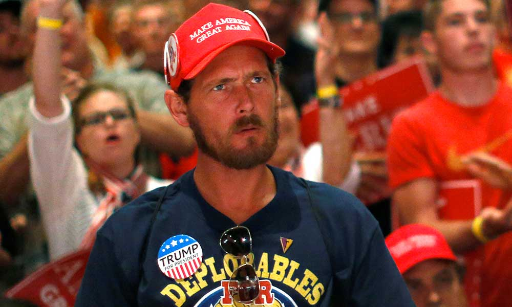 Researchers have discovered that many people are highly prone to believe even the most outrageous lies, even when they are unambiguously contradicted by clear evidence. These people are easy to spot. Just look for the red MAGA hat.