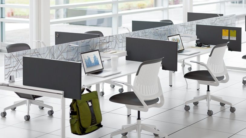 Check out your new socially distanced work space. Now you will have more safety and even less privacy than ever before. Your cubicle will look just like this, except that it's in the basement with a peek-a-boo view of the dumpster.
